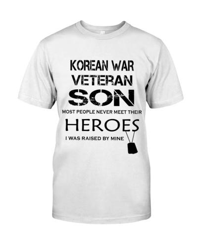 KOREAN WAR VETERAN SON 1