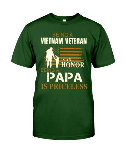 VIETNAM VETERAN - BEING A PAPA IS PRICELESS