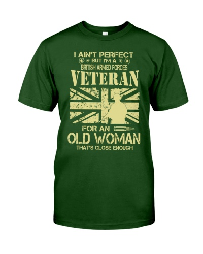 OLD WOMAN - BRITISH ARMED FORCES