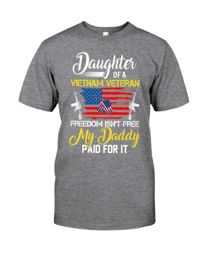 VIETNAM VET DAUGHTER - MY DADDY PAID FOR IT