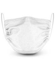 Science-Chemistry 2 Layer Face Mask - Single front