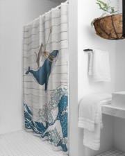 Exclusive Edition 100675 Shower Curtain aos-shower-curtains-71x74-lifestyle-front-01a