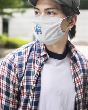 Limited Edition 001411 2 Layer Face Mask - Single aos-face-mask-2-layers-lifestyle-front-13