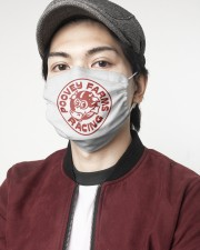 poovey-farms-racing 2 Layer Face Mask - Single aos-face-mask-2-layers-lifestyle-front-08