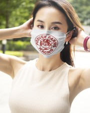 poovey-farms-racing 2 Layer Face Mask - Single aos-face-mask-2-layers-lifestyle-front-09