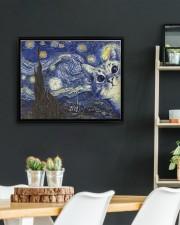 Limited Edition 00402 14x11 Black Floating Framed Canvas Prints aos-floating-framed-canvas-pgw-14x11-black-lifestyle-front-03