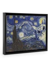 Limited Edition 00402 14x11 Black Floating Framed Canvas Prints front