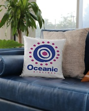 Oceanic-Airlines Square Pillowcase aos-pillow-square-front-lifestyle-02