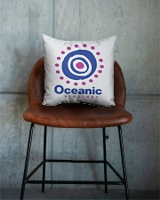 Oceanic-Airlines Square Pillowcase aos-pillow-square-front-lifestyle-04