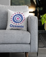 Oceanic-Airlines Square Pillowcase aos-pillow-square-front-lifestyle-05