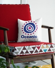 Oceanic-Airlines Square Pillowcase aos-pillow-square-front-lifestyle-09
