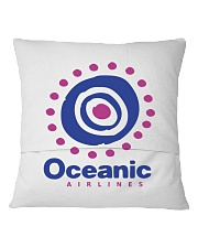 Oceanic-Airlines Square Pillowcase back