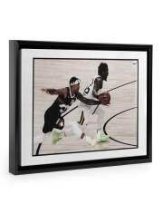 Limited edition 00261 14x11 Black Floating Framed Canvas Prints front