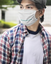 CANCEL-POVERTY 2 Layer Face Mask - Single aos-face-mask-2-layers-lifestyle-front-13