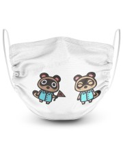 Animal-Crossing-Face-Mask 2 Layer Face Mask - Single front