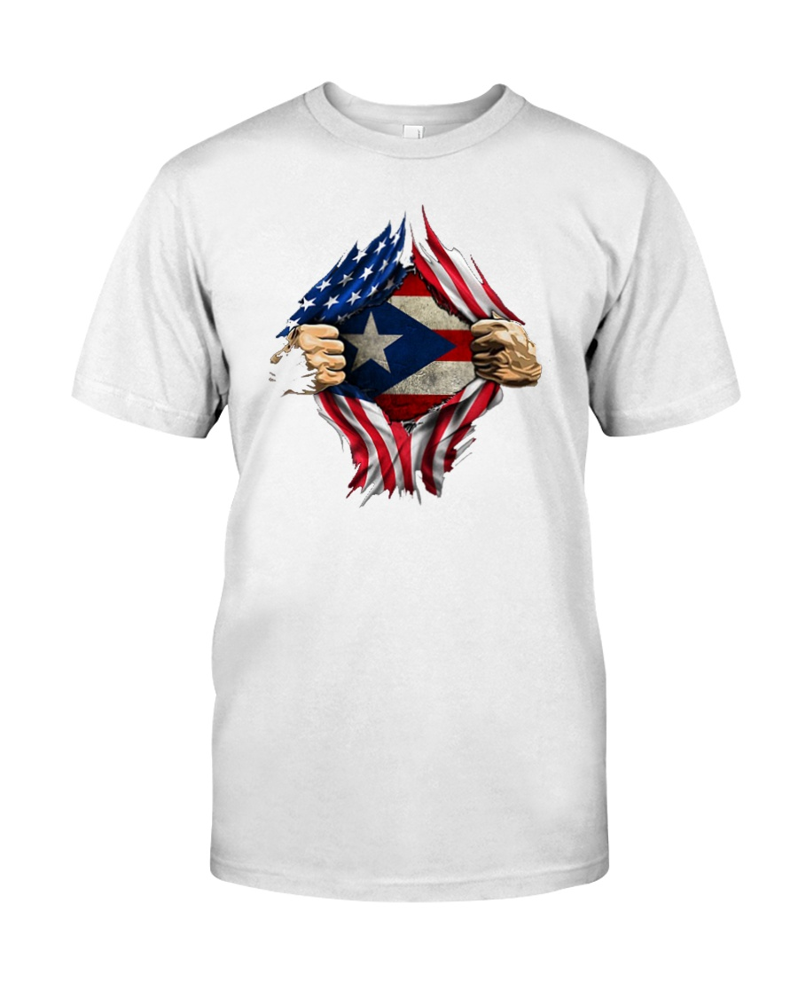 NC - Puerto Ricans blood inside me Premium Fit Mens Tee