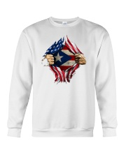 NC - Puerto Ricans blood inside me Crewneck Sweatshirt tile