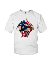 NC - Puerto Ricans blood inside me Youth T-Shirt thumbnail