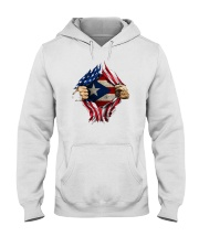 NC - Puerto Ricans blood inside me Hooded Sweatshirt thumbnail