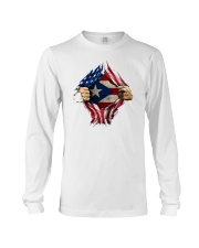 NC - Puerto Ricans blood inside me Long Sleeve Tee thumbnail