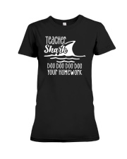 Doo Doo Your Home Work Premium Fit Ladies Tee tile