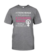A STRONG WOMAN Classic T-Shirt tile