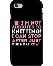 Knitter I Am Not Addictict To Knitting Phone Case thumbnail