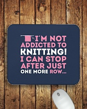 Knitter I Am Not Addictict To Knitting Mousepad aos-mousepad-front-lifestyle-2