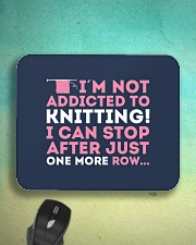 Knitter I Am Not Addictict To Knitting Mousepad aos-mousepad-front-lifestyle-3