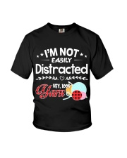 Not Easily Distracted Hey Look Yarn Youth T-Shirt thumbnail