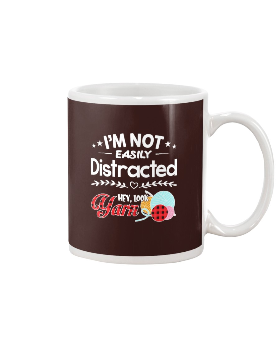 Not Easily Distracted Hey Look Yarn Mug