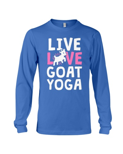 Live Love Goat Yoga