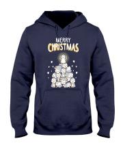Funny Penguins Ugly Christmas Hooded Sweatshirt thumbnail