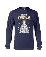 Funny Penguins Ugly Christmas Long Sleeve Tee thumbnail