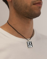 This Girl With A Big Rod Cord Rectangle Necklace aos-necklace-square-cord-lifestyle-2
