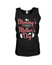 Mommy's First Mothers Day Unisex Tank thumbnail