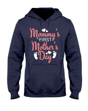 Mommy's First Mothers Day Hooded Sweatshirt thumbnail