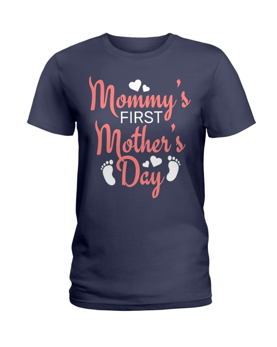 Mommy's First Mothers Day Ladies T-Shirt