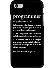 Funny Programmer Definition Phone Case thumbnail