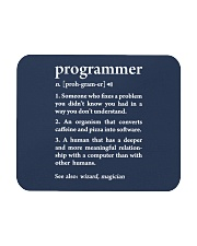 Funny Programmer Definition Mousepad thumbnail