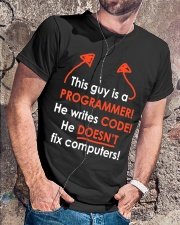 This Guy Is A Programmer Classic T-Shirt lifestyle-mens-crewneck-front-4