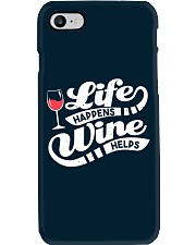 Life Happens Wine Phone Case thumbnail