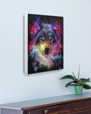 Beautiful Colorful Wolf 16x20 Gallery Wrapped Canvas Prints aos-canvas-pgw-16x20-lifestyle-front-01