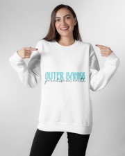 Outer Banks Paradise on Earth Crewneck Sweatshirt apparel-crewneck-sweatshirt-lifestyle-front-11