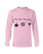 Plan For The Day Knitting Long Sleeve Tee thumbnail