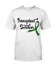 Transplant Survivor Classic T-Shirt front