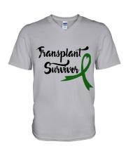 Transplant Survivor V-Neck T-Shirt thumbnail