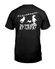 Team Roping T-Shirt Classic T-Shirt back