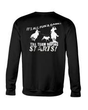 Team Roping T-Shirt Crewneck Sweatshirt thumbnail