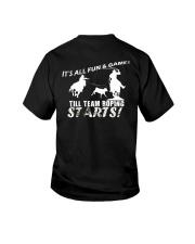 Team Roping T-Shirt Youth T-Shirt thumbnail